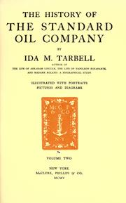 Cover of: The history of the Standard Oil Company | Ida Minerva Tarbell