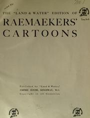 "Cover of: The ""Land & Water"" edition of Raemaekers' cartoons"