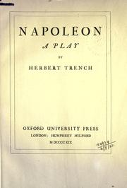 Cover of: Napoleon