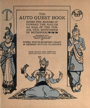 Cover of: The auto guest book