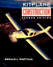 Cover of: Kitplane construction