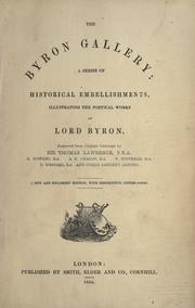Cover of: Life of Lord Byron: with his letters and journals