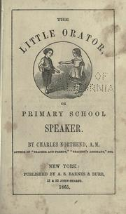 Cover of: The little orator