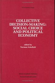 Cover of: Collective Decision-Making: | Norman Schofield