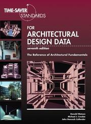 Cover of: Time-saver standards for architectural design data |