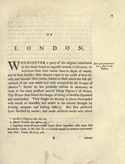 Cover of: Of London