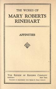 Cover of: Affinities