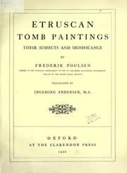 Etruscan tomb paintings by Frederik Poulsen