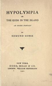 Cover of: Hypolympia: or, The gods in the island, an ironic fantasy