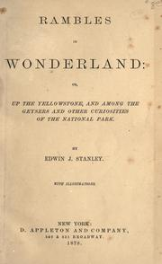 Cover of: Rambles in wonderland