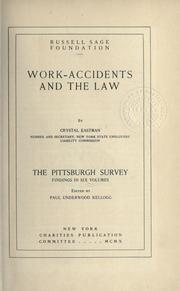 The Pittsburgh survey by Paul Underwood Kellogg