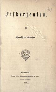 Cover of: Fiskerjenten