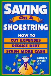 Cover of: Saving on a shoestring | Barbara M. O