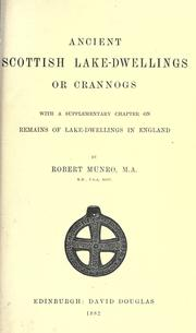 Cover of: Ancient Scottish lake-dwellings or crannogs