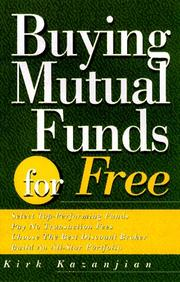Cover of: Buying mutual funds for free