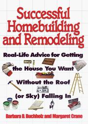 Cover of: Successful homebuilding and remodeling | Barbara Ballinger Buchholz