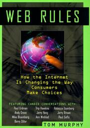 Cover of: Web Rules | Tom Murphy (undifferentiated)
