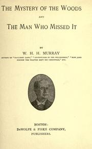 Cover of: The mystery of the woods