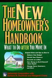 Cover of: The New Homeowner
