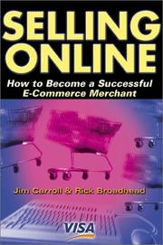 Cover of: Selling Online | Jim Carroll