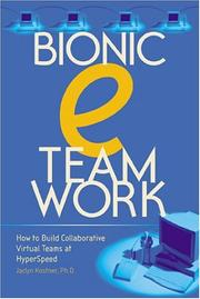 Cover of: Bionic eTeamwork