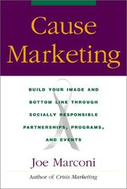 Cause Marketing by Joe Marconi
