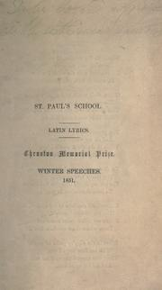 Cover of: Addison's hymn