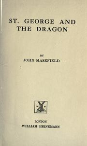 Cover of: St. George and the dragon