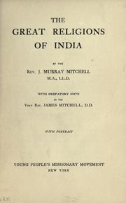 Cover of: The great religions of India
