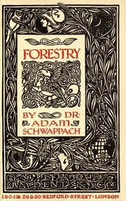 Cover of: Forestry
