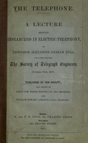 Cover of: The telephone
