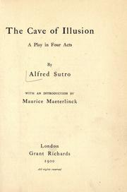 Cover of: The cave of illusion