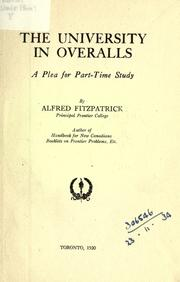 The university in overalls by Alfred Fitzpatrick