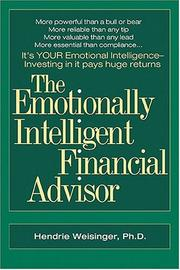 Cover of: The Emotionally Intelligent Financial Advisor