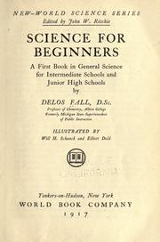 Cover of: Science for beginners by Falls, Delos