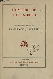 Cover of: Humour of the North