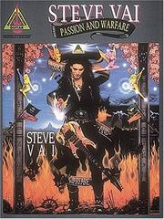 Cover of: Steve Vai - Passion & Warfare