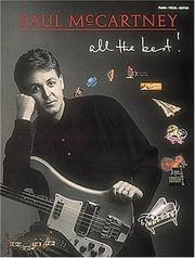 Cover of: Paul McCartney - All the Best