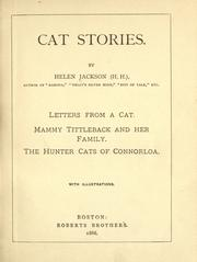 Cover of: Cat stories