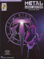 Cover of: Metal Lead Guitar/Book and Cd (Vol. 1) | Troy Stetina