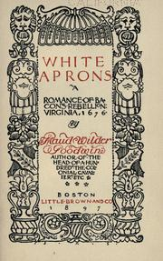 White aprons by Maud Wilder Goodwin