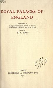 Cover of: Royal places of England