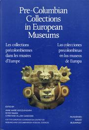 Cover of: Pre-Columbian Collections in European Museums