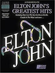 Cover of: Elton John's Greatest Hits