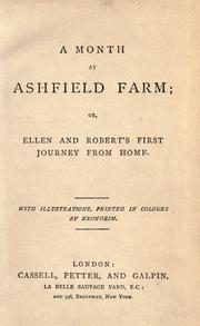Cover of: A month at Ashfield farm |