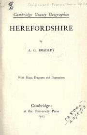 Cover of: Herefordshire