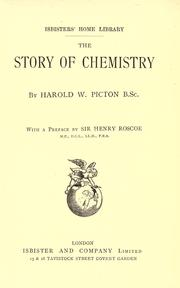Cover of: The story of chemistry