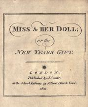 Cover of: Miss & her doll, or, The New Years gift by