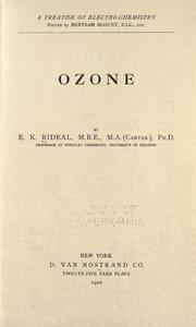 Cover of: Ozone