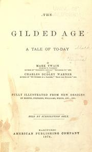 Cover of: The gilded age | Mark Twain